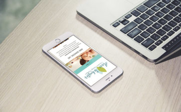 Anne Schuster Massage - Branding and Web Design