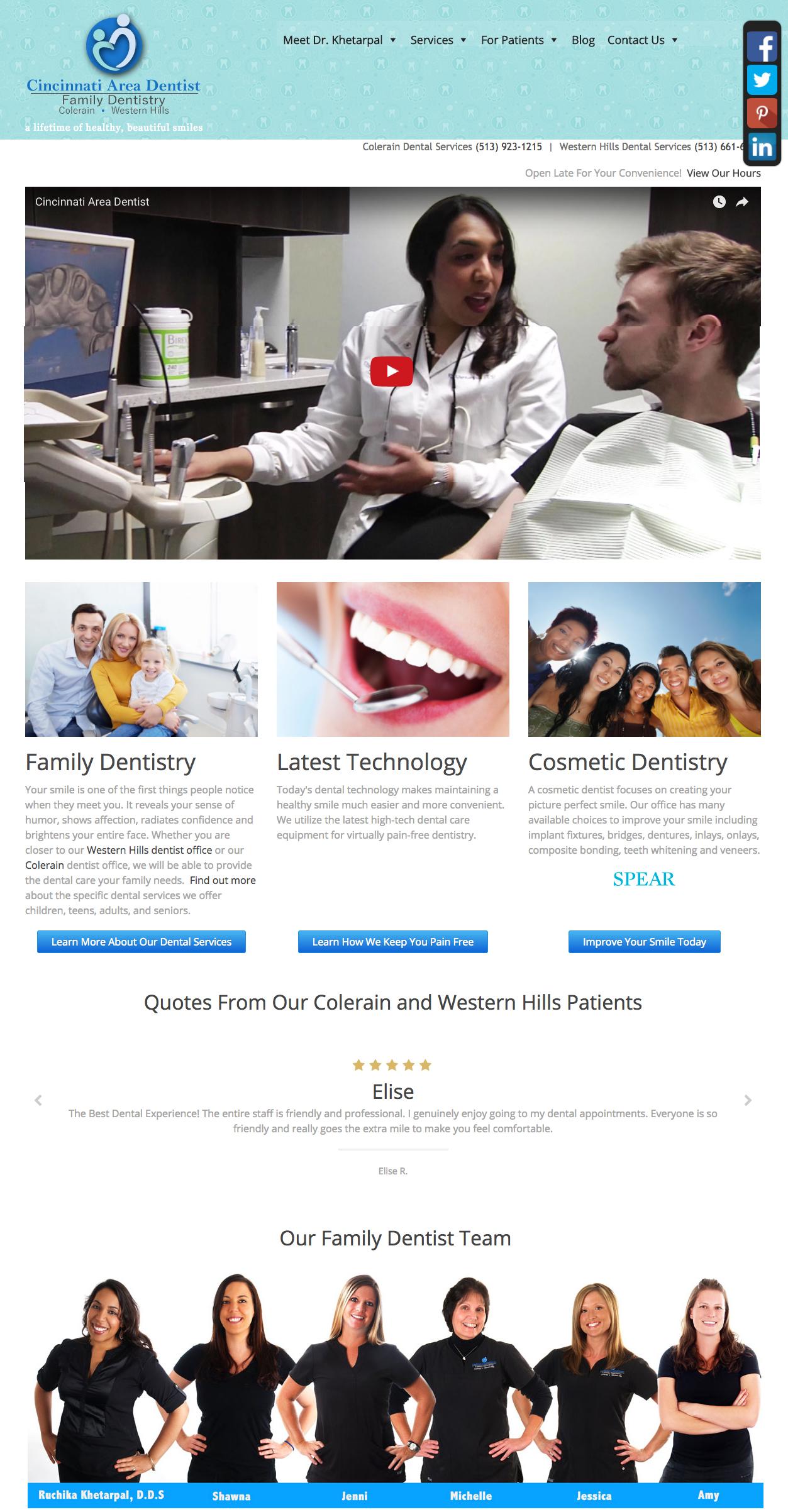 Cincinnati Area Dentist