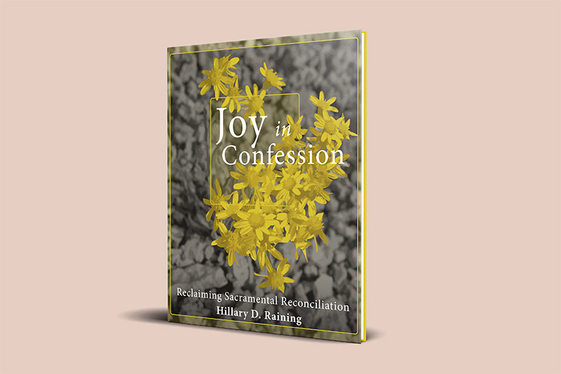 Joy in Confession Book Cover Design