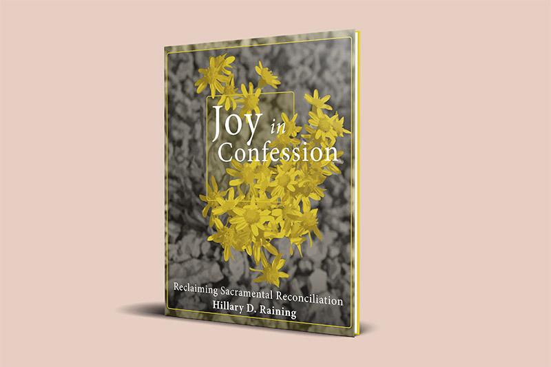 Joy in Confession Book Cover Design