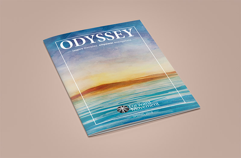 Odyssey Newsletter Design