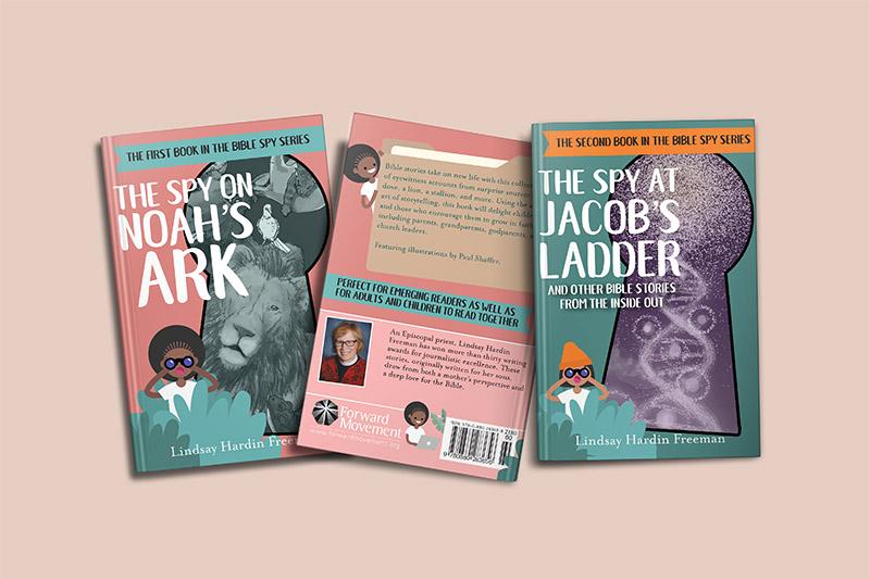 Book Design - Bible Spy Series