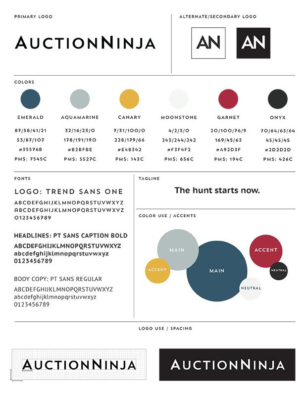 AuctionNinja Brand Guidelines